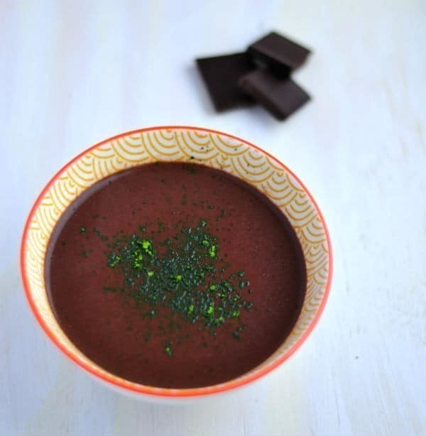Thick & Vegan SuperPower Hot Chocolate (A L'italienne)