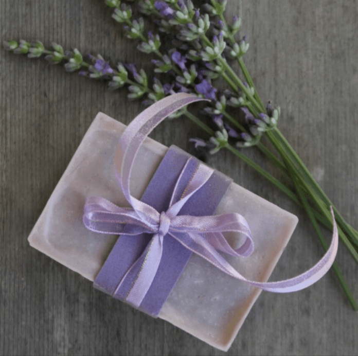 how to make lavender soap
