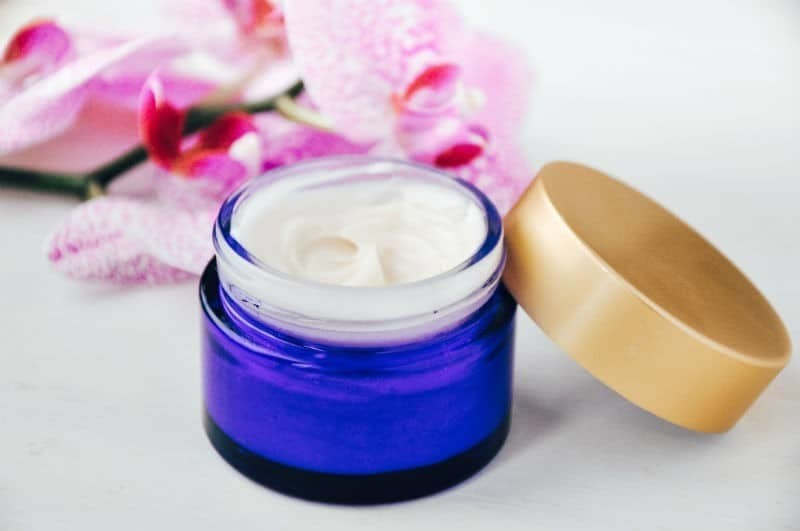 Homemade Face Cream With Sacha Inchi Oil For Mature Skin